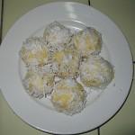 Рецепт пирожного Рафаэлло из кукурузных палочек