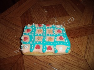 Раскрашенное печенье.