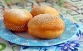 Рецепт вкусных пончиков.