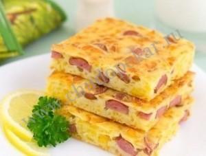 Пирог с сыром.