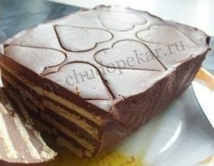 """как приготовить """"Шоколадный"""" торт"""