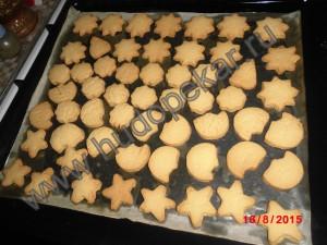 Готовое печенье.