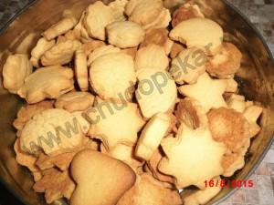 Домашнее песочное печенье.