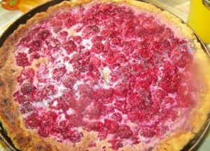 Открытый пирог.