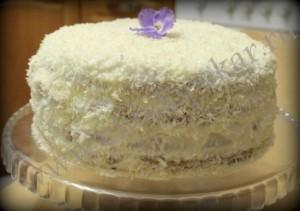 Торт собран.