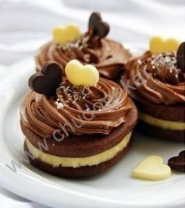 Шоколадное печенье - рецепт.