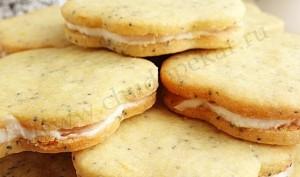 Вот так выглядит готовое печенье.