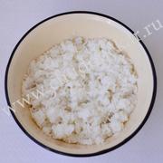 Отвариваем рис.
