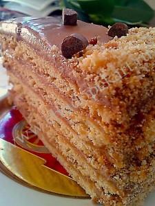 Кусочек торта.