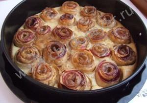 Как приготовить пирог шарлотку