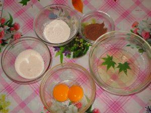 Бисквит из 2-х яиц